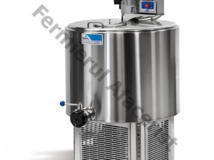 Tanc de racire lapte vertical 2 mulsori, capacitate 650 lt