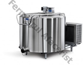 Tanc de racire lapte vertical 2 mulsori, capacitate 1.000 lt, 380 V