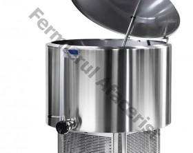 Tanc de racire lapte vertical 4 mulsori, capacitate 200 lt