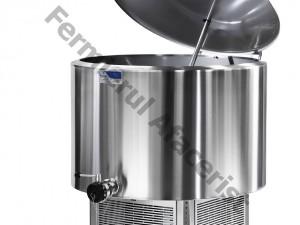 Tanc de racire lapte vertical 4 mulsori, capacitate 400 lt