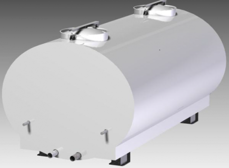 Cisterna pentru transport lapte